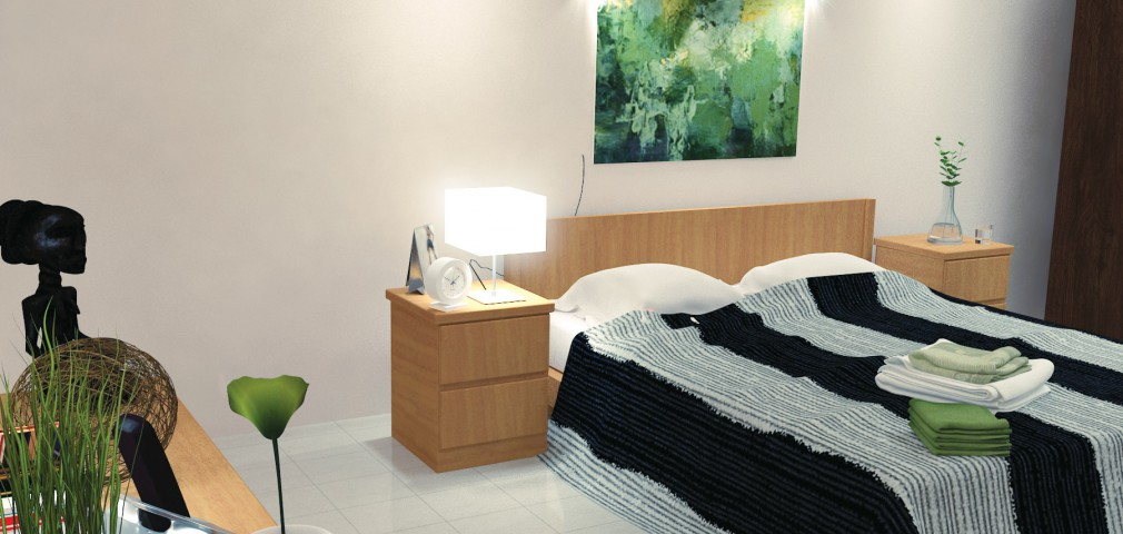 Bed Room - Nayana Residencies